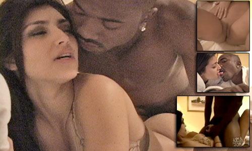 El ex novio de Kim Kardashian que protagonizó su sex